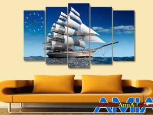 Tranh treo tường AmiA 330 treo phòng khách