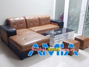 Mẫu sofa giá rẻ góc chữ L SFD 199
