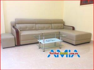 Hình ảnh mẫu ghế sofa góc L đẹp mã SFD159