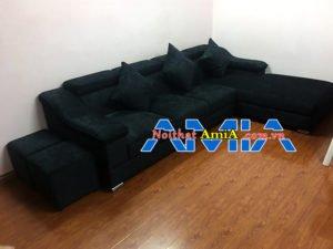 Sofa nỉ đẹp cho phòng khách sang trọng