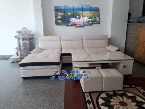Cách chọn sofa góc chữ L cho phòng khách SFD 131