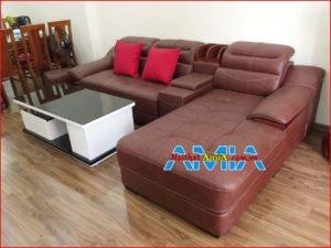 Hình ảnh ghế sofa phòng khách góc chữ L SFD127