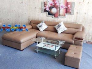 Hình ảnh thực tế mẫu sofa phòng khách SFD 149