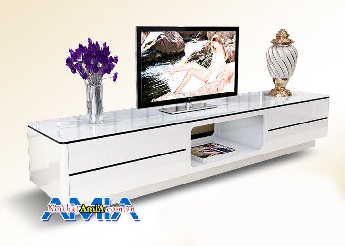 Mẫu kệ tivi đẹp cho phòng khách với kích thước lớn tiện dụng KTV245