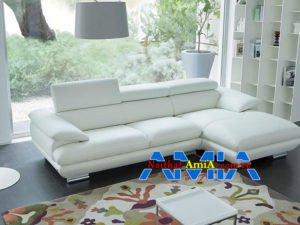 mẫu sofa da phòng khách cực sang trọng SFD 094