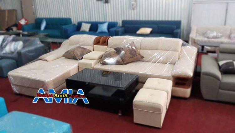 Sofa góc chữ L hiên đại SFD 127