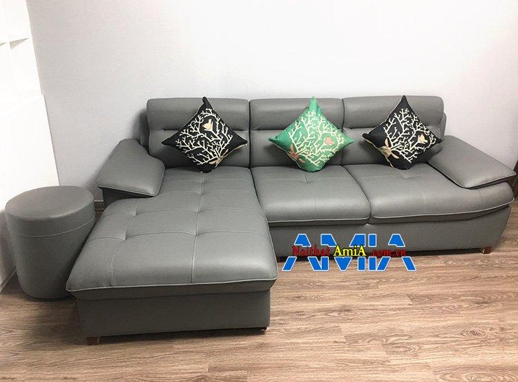 Hình ảnh Bộ sofa góc đẹp hiện đại thiết kế hình chữ L đẹp 141