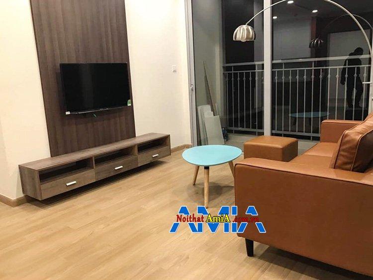 Kệ tivi gỗ giá rẻ cho phòng khách đẹp hiện đại nhà chung cư