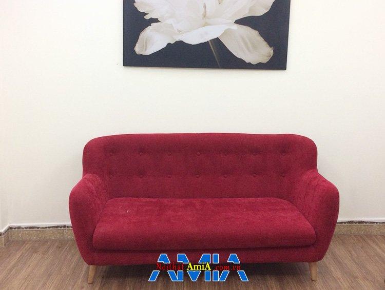 Hình ảnh Ghế sofa nhỏ mini giá rẻ AmiA SFN163 gam màu đỏ nổi bật