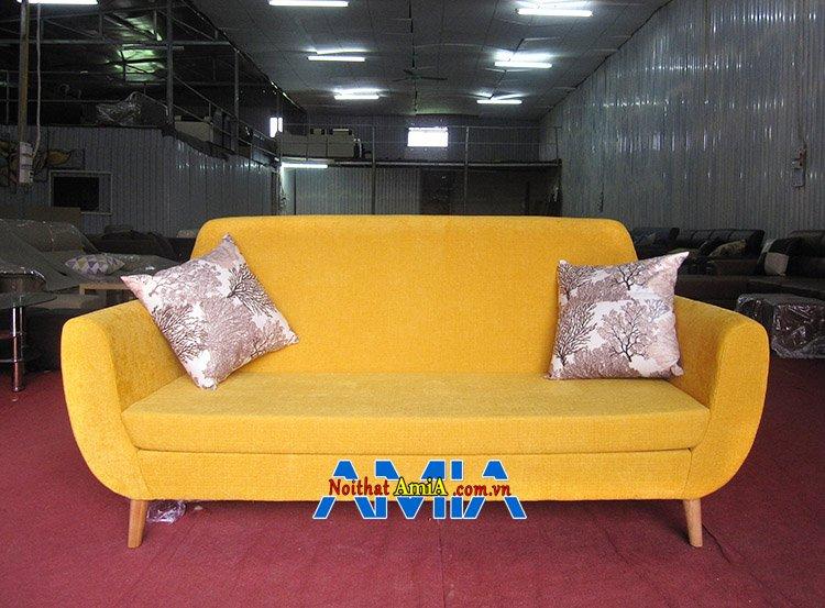 Hình ảnh Sofa văng giá rẻ Hà Nội AmiA SFN112 giá dưới 5 triệu đồng một bộ