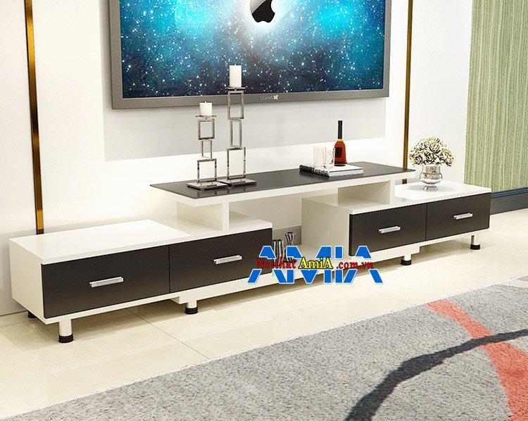 Kệ tủ tivi giá rẻ Hà Nội cho phòng khách đẹp hiện đại