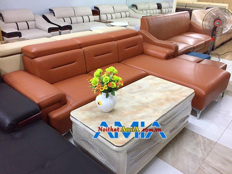 Hình ảnh bộ bàn ghế phòng khách Hà Nội hiện đại trên 10 triệu