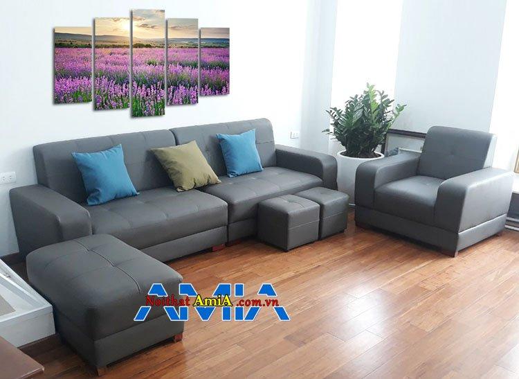 Mẫu bàn ghế sofa nhà chung cư được chọn nhiều nhất hiện nay