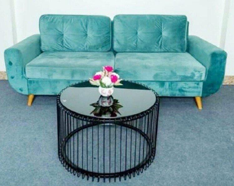Mẫu bàn trà kết hợp sofa chung cư đẹp hiện đại