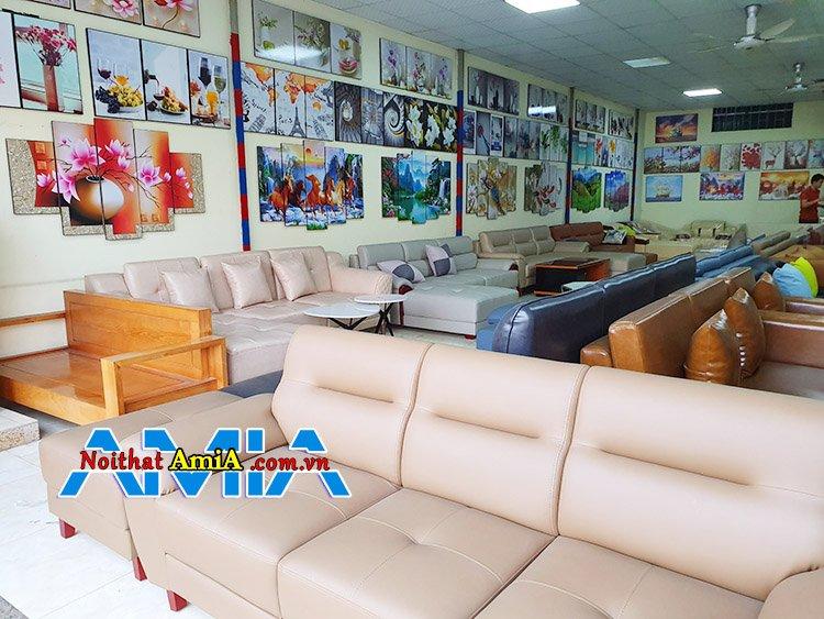 Hình ảnh địa chỉ bán sofa giá rẻ Hà Nội chỉ từ 2 triệu đồng