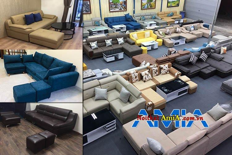 Địa chỉ mua ghế sofa đẹp tại Hà Nội uy tín chính hãng
