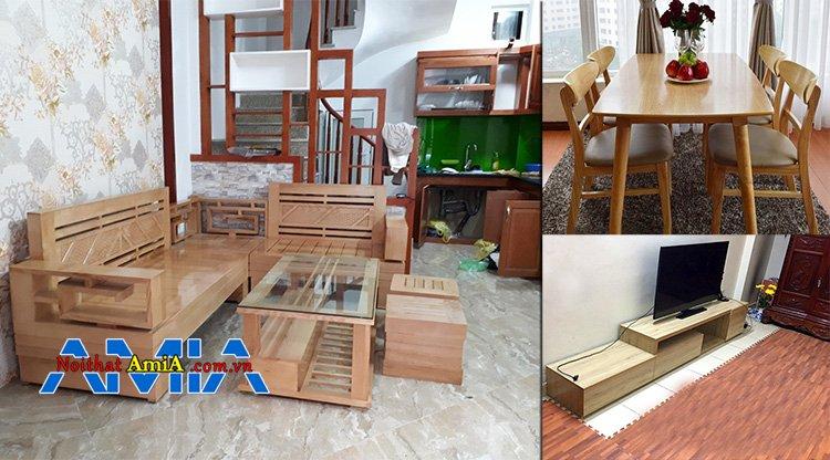 Địa chỉ thi công nội thất gỗ tự nhiên tại Hà Nội uy tín