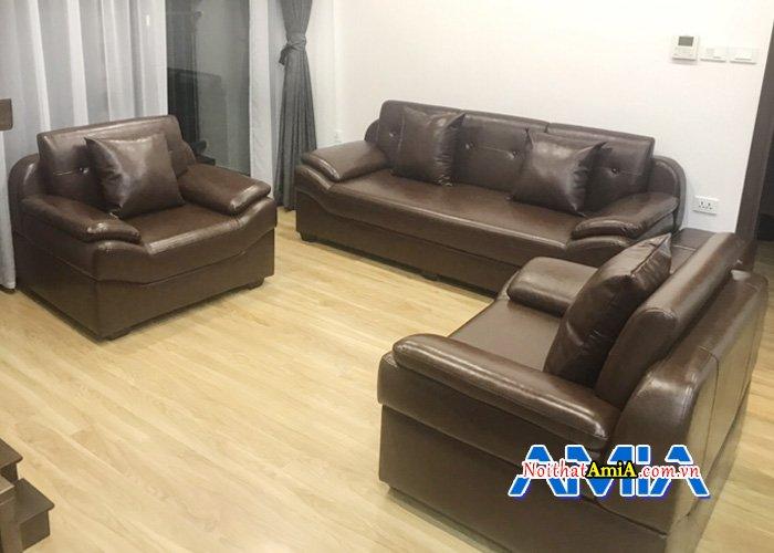 Ghế sofa cho phòng khách giám đốc sang trọng SFD099b