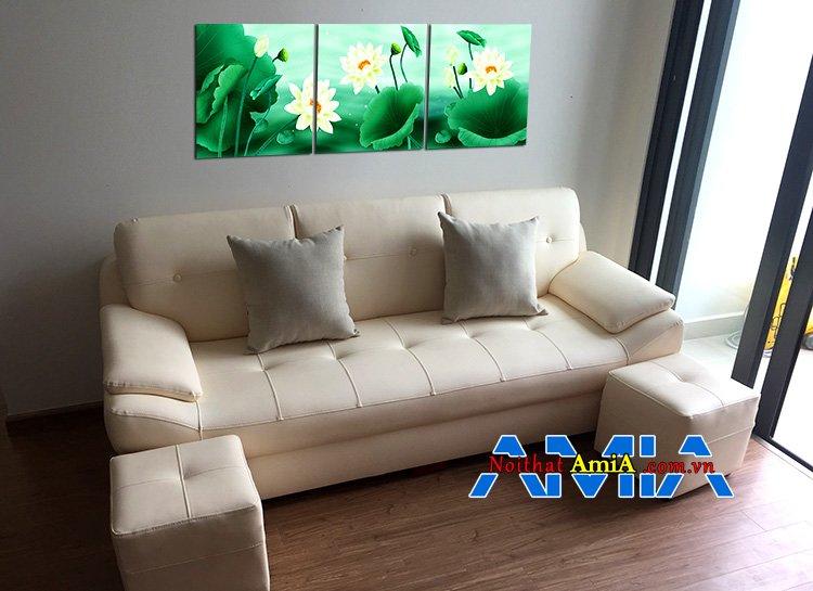 Mẫu bộ ghế sofa chung cư đẹp hiện đại