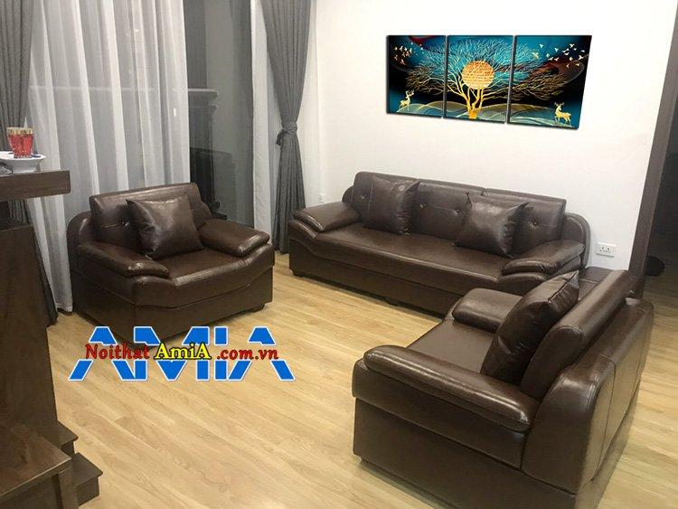 Mẫu ghế sofa chung cư hiện đại vô cùng đẳng cấp
