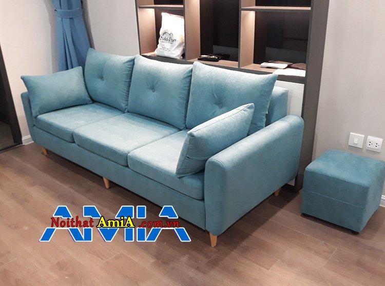 Hình ảnh Ghế sofa nỉ giá rẻ 7 triệu mới nhất năm 2020