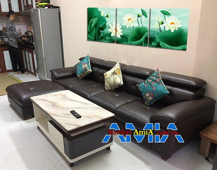 Ghế sofa cho nhà chung cư hiện đại SFD093 tiện nghi bất ngờ