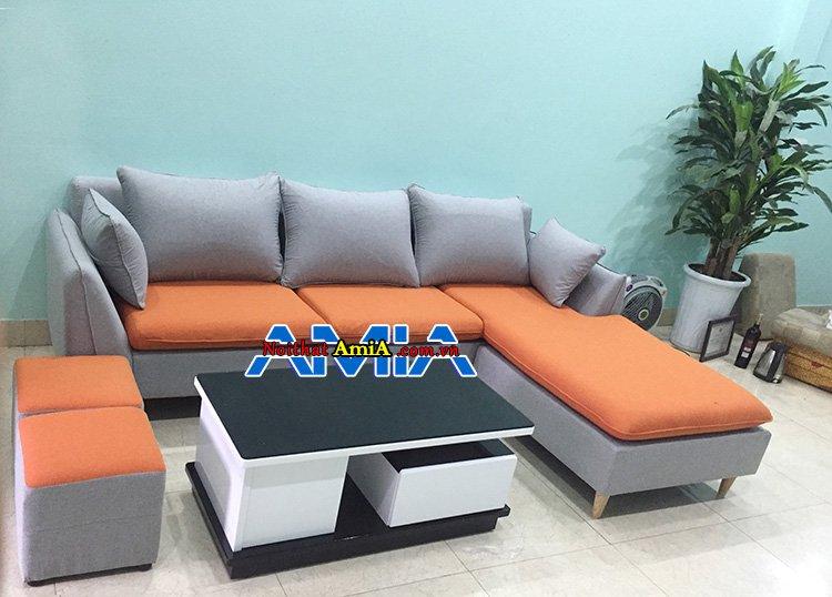 mẫu ghế sofa nỉ SFN 226