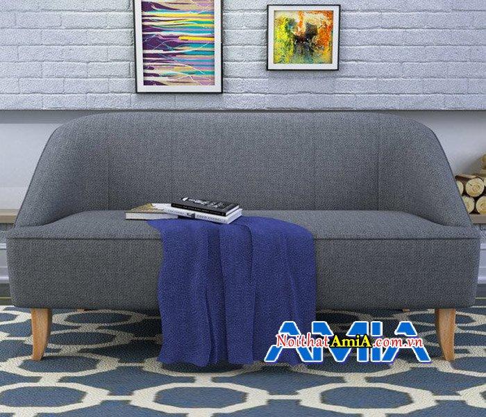 Mẫu sofa đi-văng với chân đế gỗ cao hiện đại SFN14062