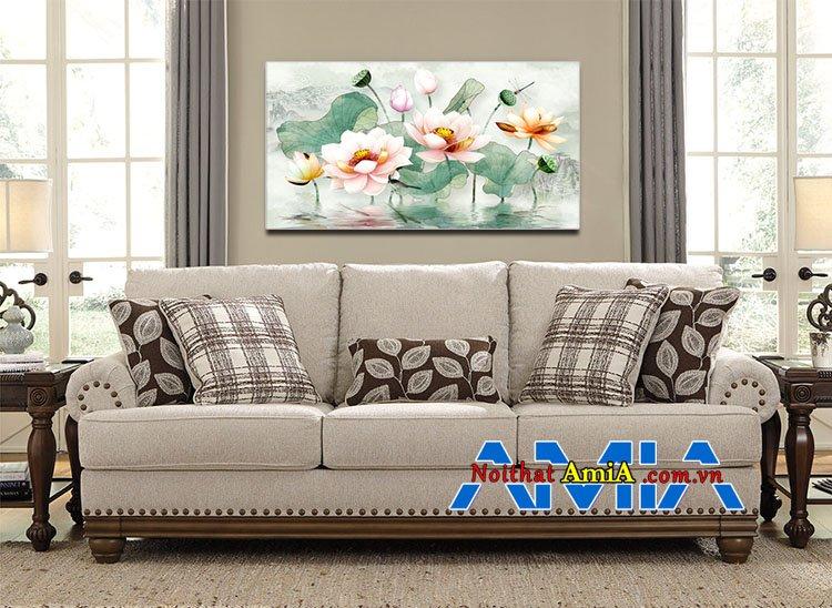 Mẫu ghế sofa nỉ đẹp gam màu tươi sáng trẻ trung