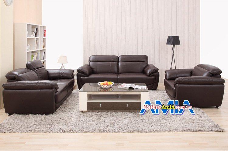 Những lưu ý khi chọn mua ghế sofa da thật cho phòng khách