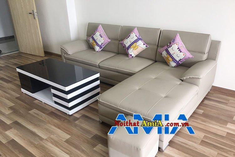 Mẫu ghế Sofa căn hộ chung cư bán chạy năm 2019