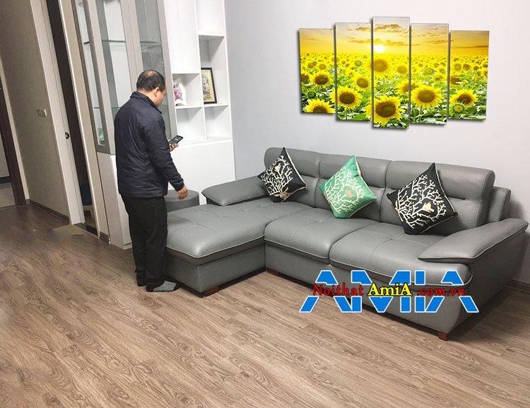 Mẫu ghế Sofa cho chung cư cao cấp hiện đại bậc nhất Hà Nội