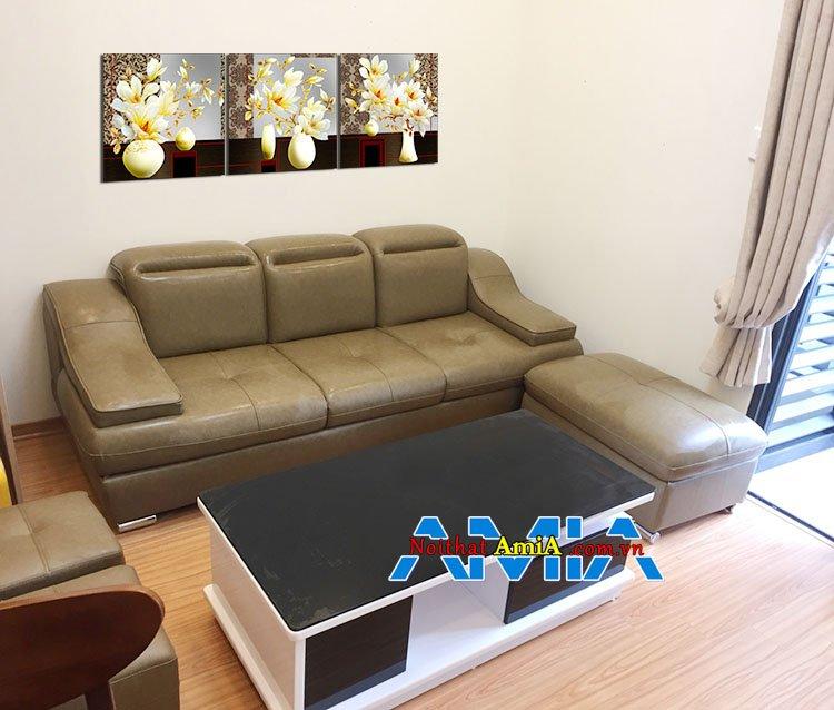 Mẫu ghế sofa chung cư nhỏ gọn SFD100