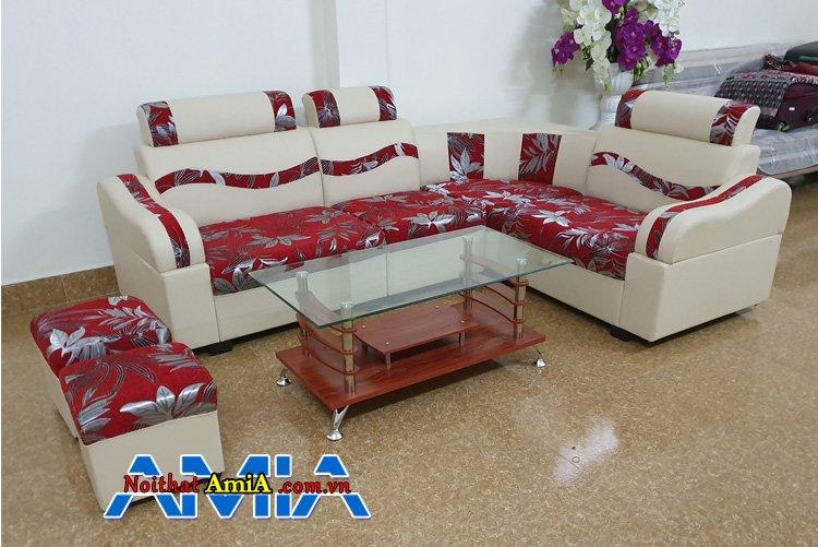 Sofa da giá rẻ chỉ từ 2 triệu đồng kê phòng khách nhà quê