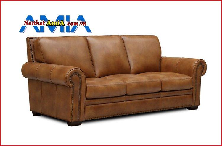 sofa văng da nhập khẩu nhỏ gọn AmiA SF1992126