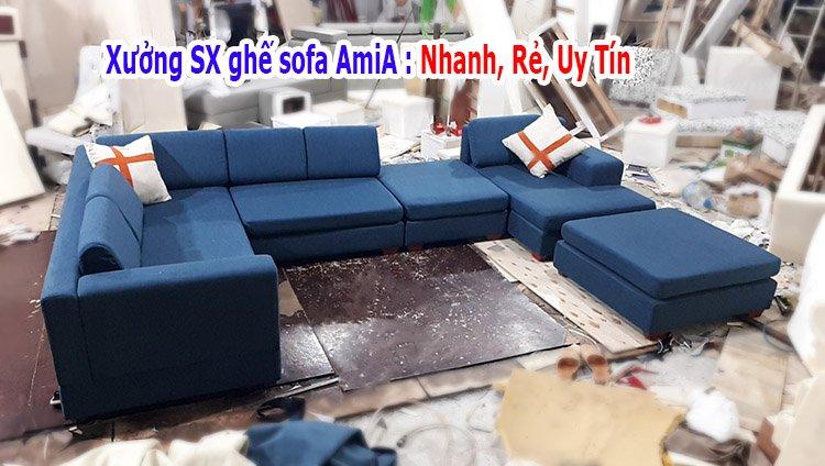 Xưởng sản xuất ghế sofa AmiA giá rẻ tại Hà Nội