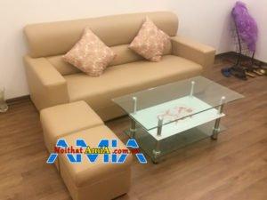 Mẫu ghế sofa chung cư giá rẻ dạng văng kiểu dáng đẹp