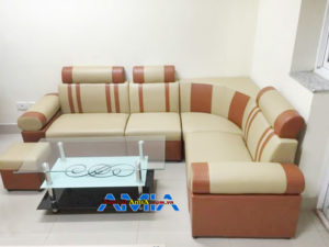 mẫu ghế sofa góc giá rẻ AmiA SFD031