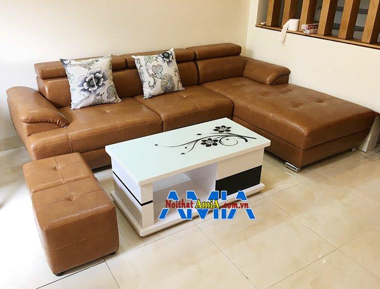 Hình ảnh Mẫu ghế sofa Nam Định đóng theo yêu cầu tại Nội thất AmiA