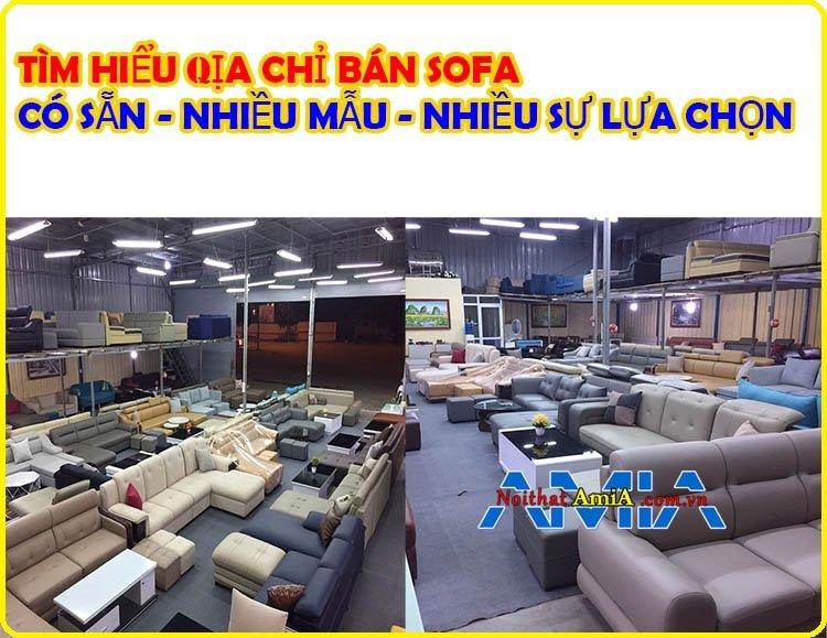 Hình ảnh địa chỉ bán sofa giá rẻ Hà Nội uy tín
