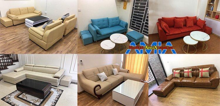 Địa chỉ bán ghế sofa phòng khách đẹp tại Hà Nội cực nhiều, cực rẻ