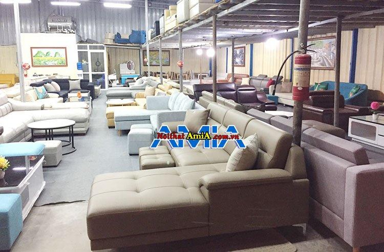 Hàng trăm mẫu tại địa chỉ mua sofa Bắc Ninh