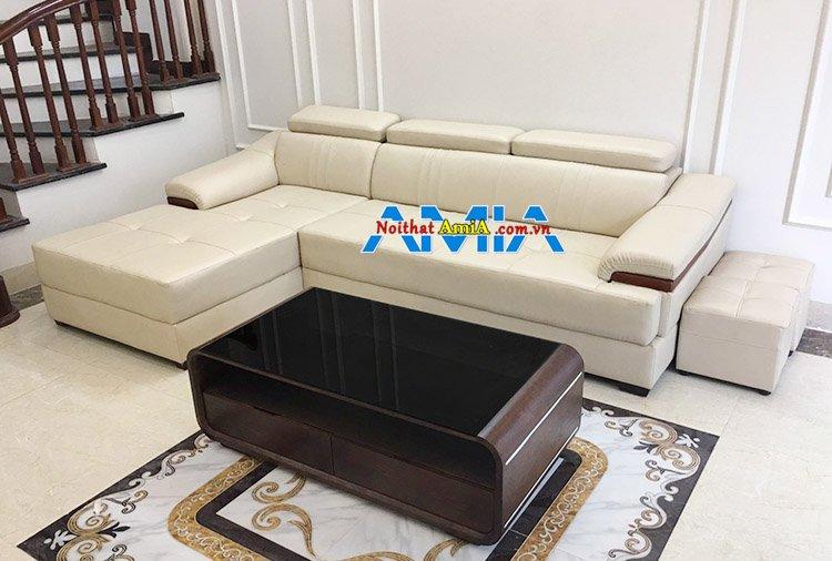 Hình ảnh Bộ ghế sofa phòng khách đóng theo yêu cầu