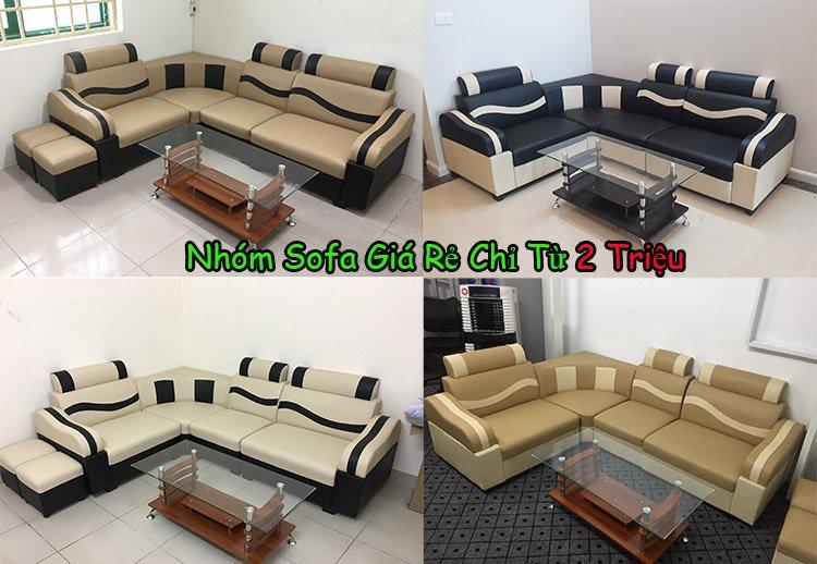 Ảnh mẫu sofa giá rẻ 2 triệu bán chạy nhất thị trường