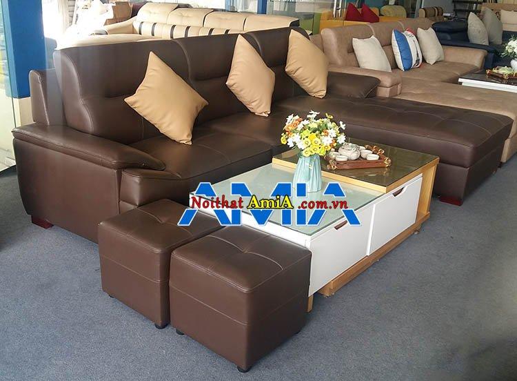 Hình ảnh mẫu bàn ghế sofa phòng khách giá rẻ SFD141A