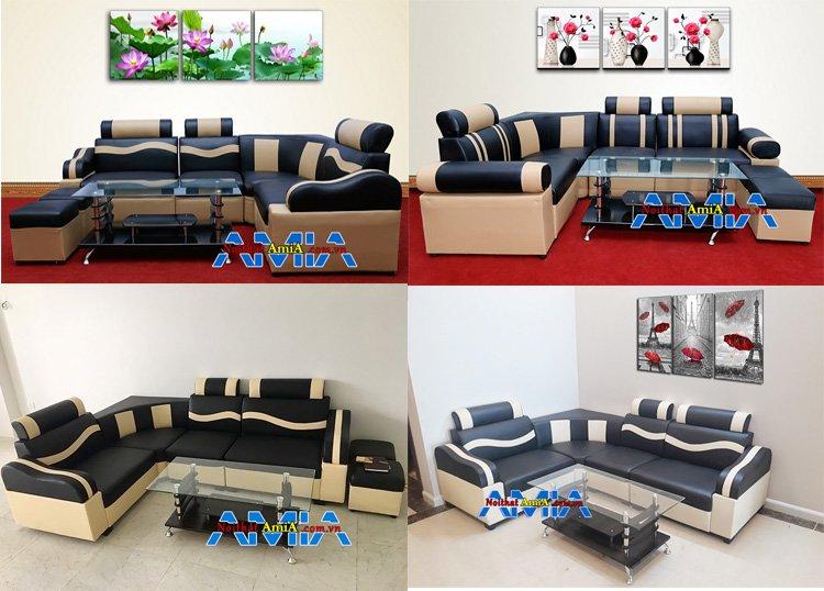 Mẫu ghế sofa giá rẻ dưới 3 triệu AmiA SFD030