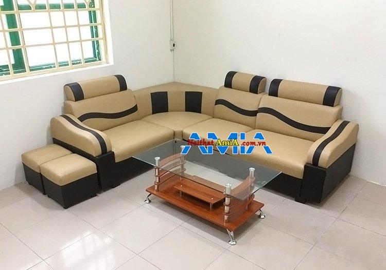 Hình ảnh mẫu ghế sofa da giá rẻ dưới 2 triệu bền đẹp
