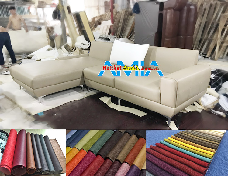 Nhận đóng ghế sofa da tại xưởng sản xuất theo yêu cầu