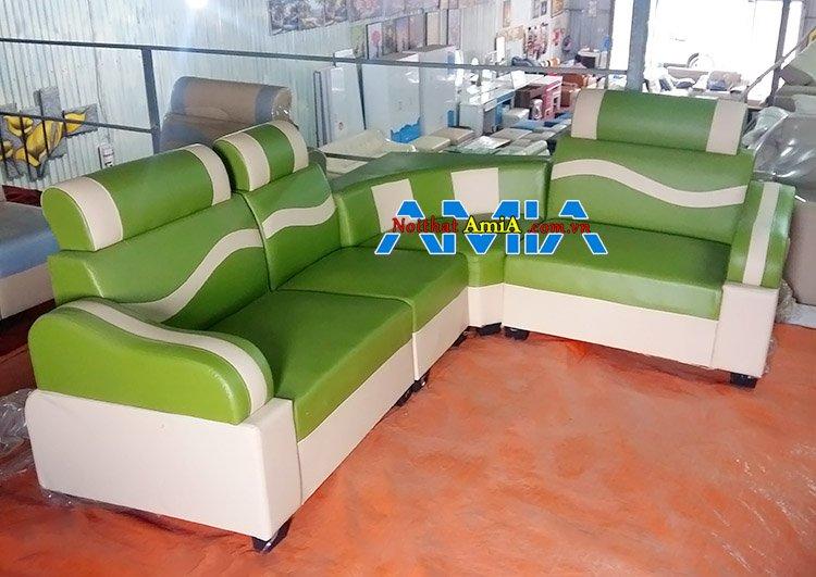 Mẫu ghế sofa giá rẻ 2 triệu tại xưởng AmiA