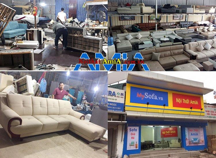 Ghế sofa giá rẻ tại xưởng Nguyễn Xiển